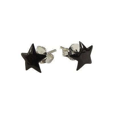 Pendiente de plata en forma de estrella 7mm, OR76-1