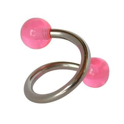 Piercing ombligo espiral GES9-9
