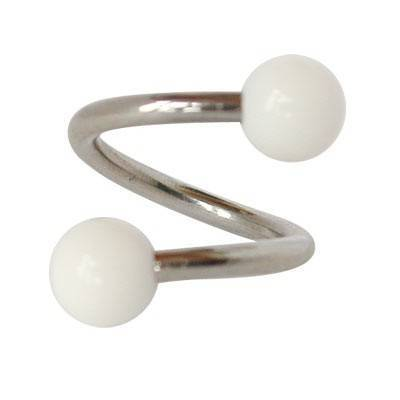 Piercing ombligo espiral GES9-2