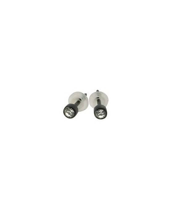 Pendientes de plastico chico BB372-13, precio por unidad