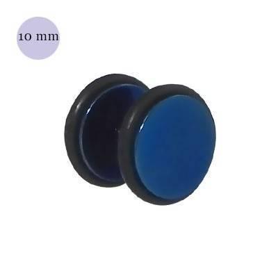Dilatacion falsa azul de acero con anillas de goma, diámetro 10mm