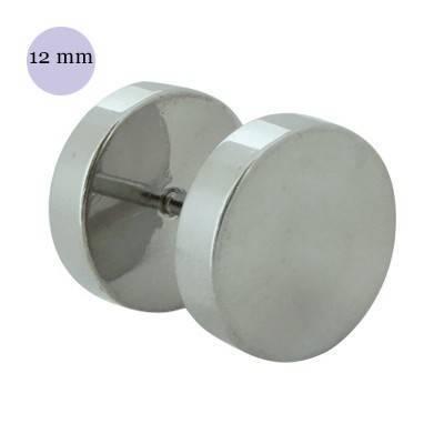 Dilatacion falsa lisa de acero, diámetro 12mm