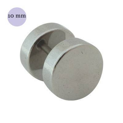Dilatacion falsa lisa de acero, diámetro 10mm
