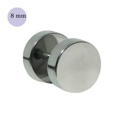 Dilatacion falsa lisa de acero, diámetro 8mm