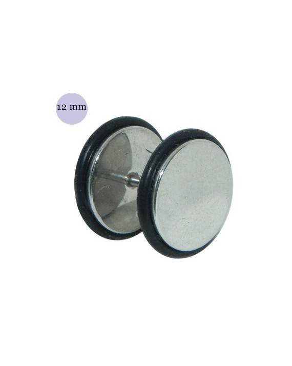 Dilatacion falsa acero con anillas de goma, diámetro 12mm