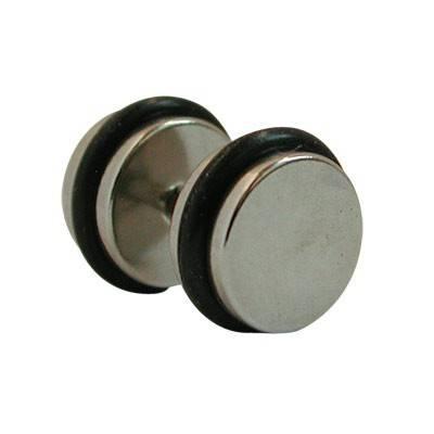 Dilatacion falsa acero con anillas de goma, diámetro 10mm