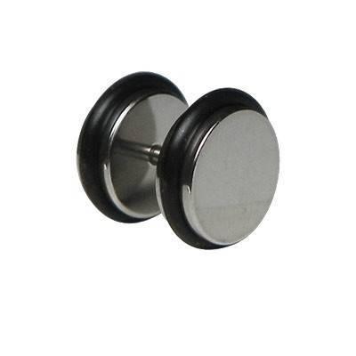 Dilatacion falsa acero con anillas de goma, diámetro 8mm