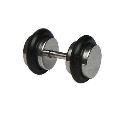 Dilatacion falsa acero con anillas de goma, diámetro 6mm