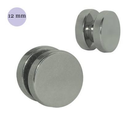 Dilatación falsa de iman de acero, diámetro 12mm