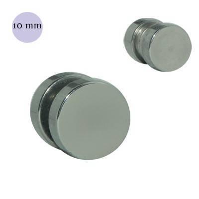 Dilatación falsa de iman de acero, diámetro 10mm