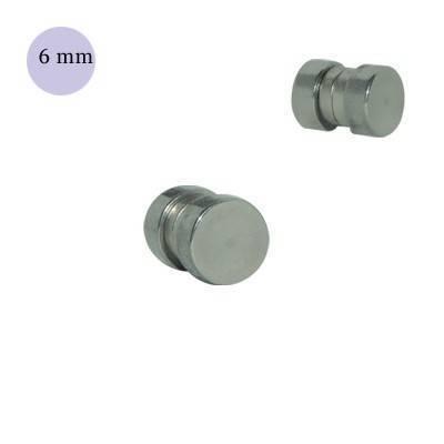 Dilatación falsa de iman de acero, diámetro 6mm
