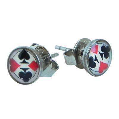 Pendientes antialergicos para chico de acero. Precio por unidad. BB380-13