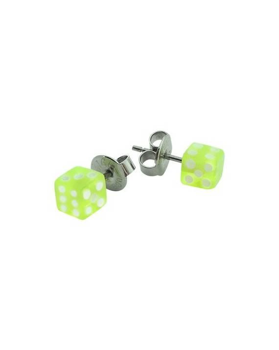Pendientes antialergicos para chico de acero. Precio por unidad. BB379-6