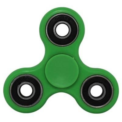 Peonza dedo, verde, fidget spinner. PZA06