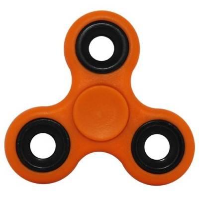 Peonza dedo, naranja, fidget spinner. PZA11