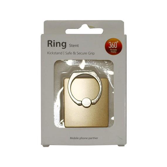 Popsocket de aluminio dorado, accesorio para móviles, se pega en la parte trasera para hacer fotos