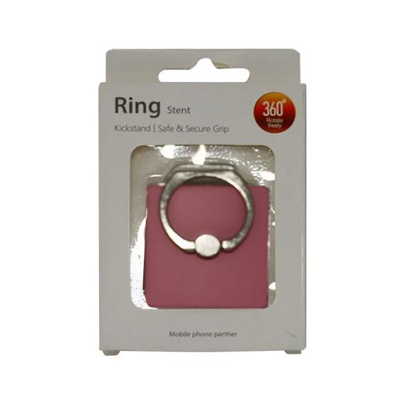 Popsocket de aluminio rosa, accesorio para móviles, se pega en la parte trasera para hacer fotos