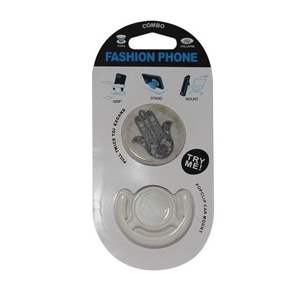 Popsocket la mano de Fátima, accesorio para móviles, se pega en la parte trasera para hacer fotos